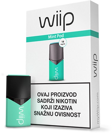 WiiPod Mint 18 mg/ml
